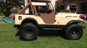 jeep cj golden eagle jeep cj5 v8 youtube