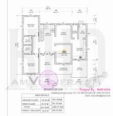 flat roof contemporary floor plans home kerala plan ground loversiq