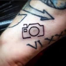 men small tattoo ideas simple camera tattoos pinterest
