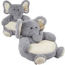 wholesale kellytoy elephant plush chair 18