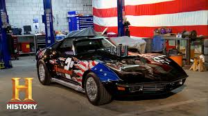 first corvette ever made best of counting cars an all american corvette history youtube