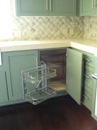 kitchen classy white cabinets what to do with deep corner