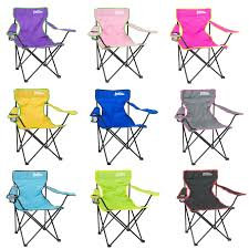 folding camping chair festival garden foldable fold up seat deck