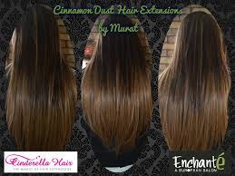 cinderella hair extensions before and after enchante a european salon and spa