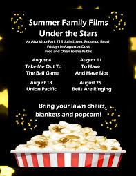 summer family movies alta vista park south bay by jackie