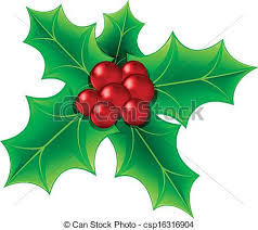 leaf clipart christmas pencil and in color leaf clipart christmas