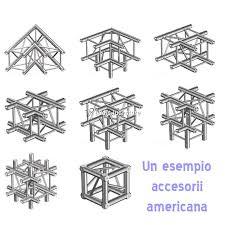 traliccio americana americana quadrata lato 30