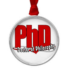doctor of philosophy ornaments keepsake ornaments zazzle