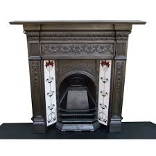 victorian fireplace original edwardian victorian cast iron