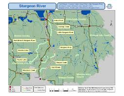 Michigan River Map by Our Service Area Tip Of The Mitt Watershed Council