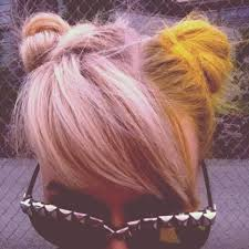 19 yellow hair images colorful hair colors