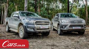 toyota car company 2016 toyota hilux vs ford ranger offroad u0026 review youtube