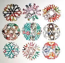 junk mail paper snowflake patterns allfreepapercrafts