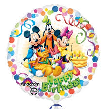 birthday delivery balloons happy birthday mickey mouse balloon delivery helium balloons