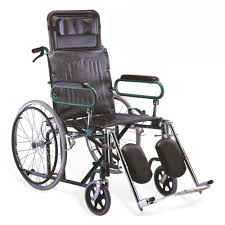 reclining wheel chair deluxe commode wheelchair manufacturer