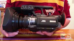 jvc gy hm100e camcorder overview youtube