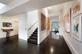 Modern Victorian Interior Design by Armadale House Dark Floors White Walls White Framed Kids