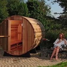 Outdoor Steam Rooms - outdoor steam room kit outdoor barrel sauna kit 6 person