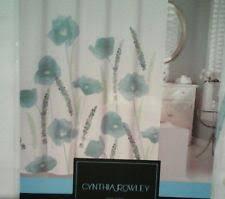 Cynthia Rowley Ruffle Shower Curtain Cynthia Rowley Shower Curtains Ebay