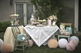 Backyard Bridal Shower Ideas Tea Party Bridal Shower Inspiration U0026 Ideas