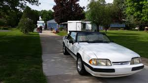 1989 ford mustang 4 cylinder 1989 ford mustang 2dr convertible lx white for sale photos
