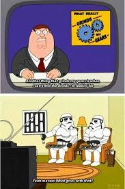 What Grinds My Gears Meme - family guy meme grinds my gears cant find droids on bingememe