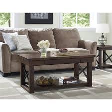 baxton studio dauphine coffee table white and brown coffee table writehookstudio com