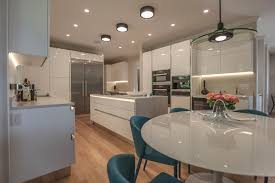 kitchen lacquered white eurohouse group west vancouver