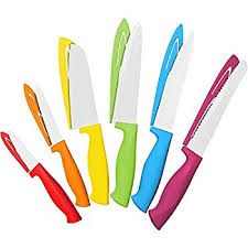 colorful kitchen knives vremi 10 colorful knife set 5 kitchen knives