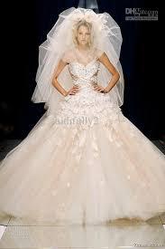 tulle wedding dress discount zuhair murad tulle wedding dress ivory lace beaded