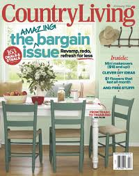 our home in country living magazine assortment