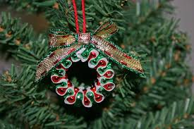 Easy Beaded Christmas Ornaments - funezcrafts beaded christmas wreath