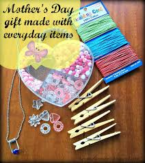 mother u0027s day gift made with everyday items around the house easy