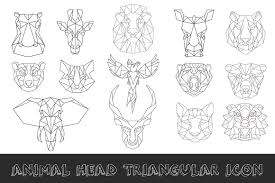 low poly animals photos graphics fonts themes templates