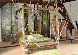 chambre foret forêt enchantée au prince grenouille