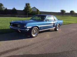 Black And Lime Green Mustang 1968 Ford Mustang For Sale On Classiccars Com 126 Available
