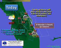 Weather Map Florida by Weather With Afternoon Showers Storms Saturday Radar