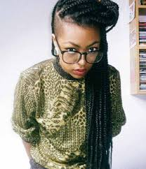 half shaved with braids 63 box braid pictures that ll help you choose your next style un ruly