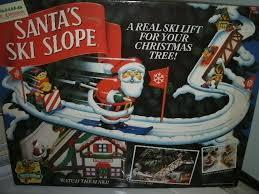 13909 antiques mr christmas santa u0027s ski slope