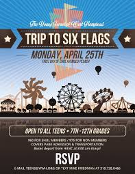Six Flags Email Past Youth Programs