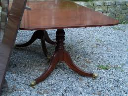 Baker Dining Room Furniture 8197 Baker Furniture Mahogany Dining Room Table With Three Leaves