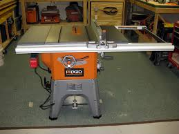 ridgid table saw miter gauge ridgid r4512 10 hybrid table saw review