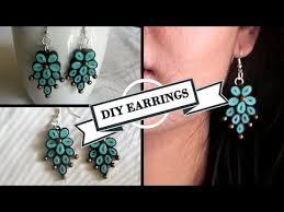earrings diy diy earrings tutorial