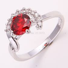 pretty rings images Pretty jewelry 10k white gold filled womens ruby wedding ring gift jpg