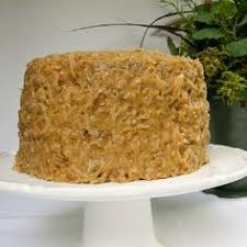 german chocolate cake via making life delicious let them eat