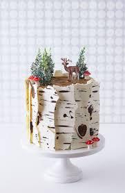 how to make cake how to make a winter birch tree cake cakegirls