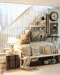 Vintage Farmhouse Decor Interior & Lighting Design Ideas