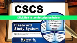 pdf flashcard study system for the cscs exam cscs test practice