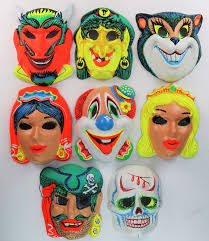 halloween mask store vintage halloween mask lot devil witch gypsy pirate skull cat
