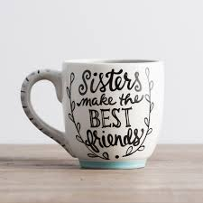 best mug sisters make the best friends jumbo mug dayspring